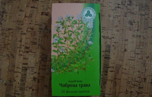 Чабреца трава в фильтр-пакетах